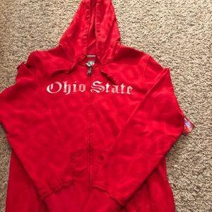Nike Ohio State Women's Full Zip Sweatshirt